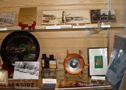 Display case from museum